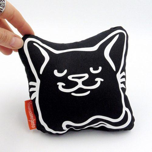 cojin mini gato bombo