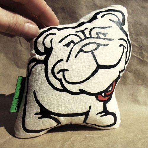 cojin mini bulldog ingles