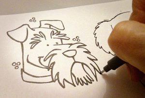 bocetos perros ©AngeSanchez