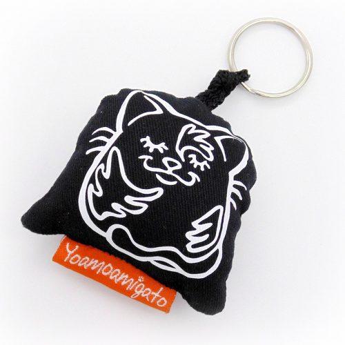 llavero negro tortu
